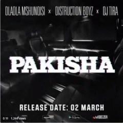 Dladla Mshunqisi - Pakisha ft. Distruction Boyz & DJ Tira (Snippet)